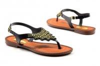 Sandałki 37 japonki TERRA & AQUA 350400 czarne