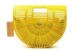 TORBA damska FRENCH RIVIERA koszyk bambus drewno
