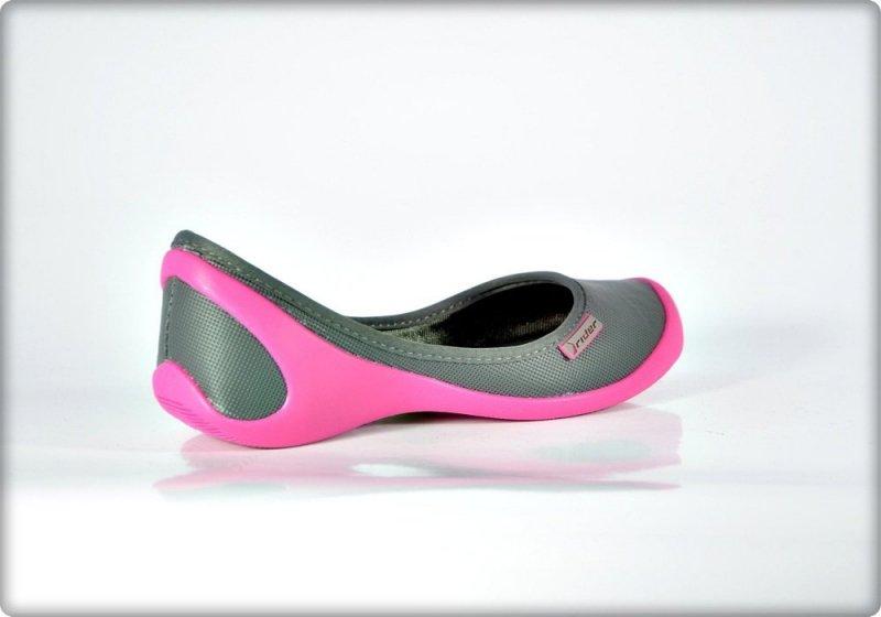 RIDER 40 balerinki 81171 różowe szare