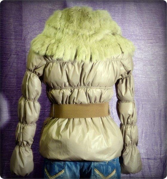 Kurtka S damska zimowa L beż 165/88A ciepła