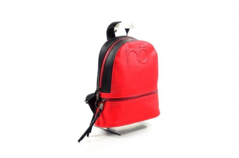 TOREBKA damska Plecak NOBO BAG 4190 czerwony czarny