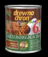 Drewnochron 2w1 Lakierobejca ORZECH CIEMNY 2,5L drewna do