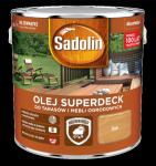 Sadolin Superdeck olej 5L DĄB tarasów drewna do