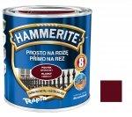 Hammerite Na Rdzę 0,7L WIŚNIOWY POŁYSK hamerite farba