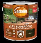 Sadolin Superdeck olej 10L WENGE 90 tarasów drewna do