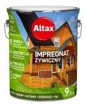 Altax Impregnat 4,5L ORZECH Żywiczny Drewna Szybkoschnący