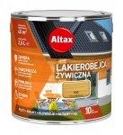 Altax Lakierobejca 2,5L DĄB Żywiczna Drewna Szybkoschnąca