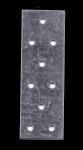 PŁYTKA PERFOROWANA ŁĄCZNIK PŁASKI 40x120 2szt. OCYNKOWANY -w-