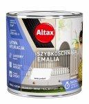Altax Emalia Szybkoschnąca Biały POŁYSK 0,25L akrylowa wodna do drewna metalu