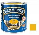 Hammerite Na Rdzę 0,25L ŻÓŁTY POŁYSK hamerite farba
