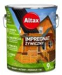 Altax Impregnat 4,5L PINIA Żywiczny Drewna Szybkoschnący