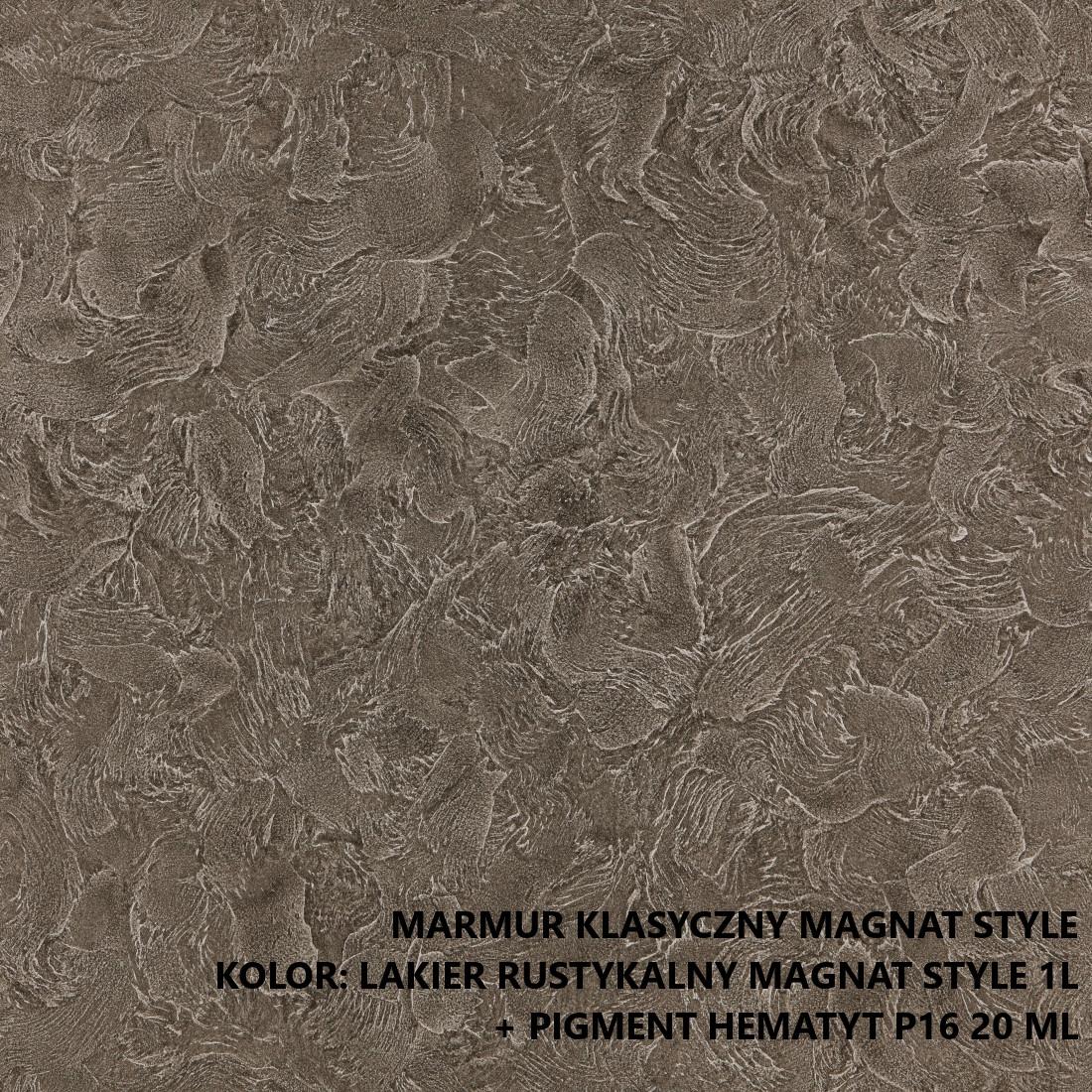 Marmur Klasyczny Magnat Style Dekoracyjny Tynk Ozdobny 6kg Super Cena