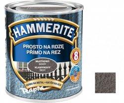 Hammerite Na Rdzę 0,7L SZARY MŁOTKOWY hamerite farba