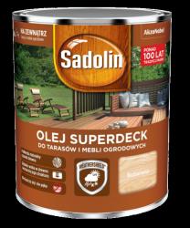 Sadolin Superdeck olej 0,75L BEZBARWNY 1 tarasów drewna do