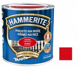 Hammerite Na Rdzę 0,25L CZERWONY POŁYSK hamerite farba