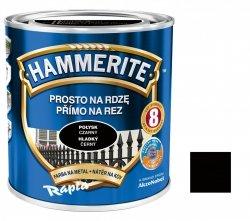 Hammerite Na Rdzę 0,25L CZARNY POŁYSK hamerite farba czarna