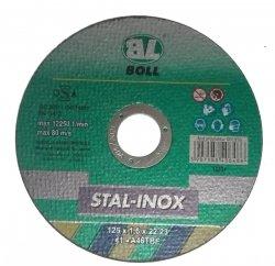 BOLL Tarcza cięcia STAL-INOX 41-125x1,6mm A60TBF