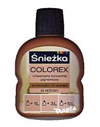 Śnieżka Colorex Pigment 100ml beżowy 62 barwnik do farby