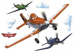 Naklejka Samoloty Dusty Ripslinger Kapitan Disney Bajka Naklejki na ścianę ścienne