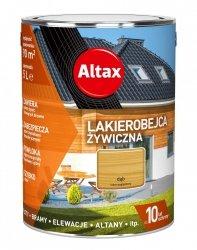 Altax Lakierobejca 10L DĄB Żywiczna Drewna Szybkoschnąca