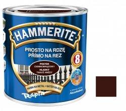 Hammerite Na Rdzę 0,7L CIEMNOBRĄZOWY POŁYSK hamerite farba