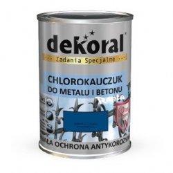 Dekoral Chlorokauczuk 4,5L NIEBIESKI CHAGALL RAL5010 farba emalia