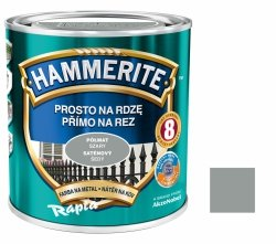Hammerite Na Rdzę 2,5L SZARY PÓŁMAT hamerite farba