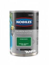 Chlorokauczuk 1L ZIELONY LIŚCIASTY RAL 6002 Nobiles farba emalia