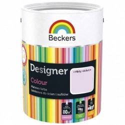 Beckers 5L MISTY VIOLET Designer Colour farba lateksowa