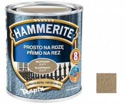 Hammerite Na Rdzę 0,7L ZŁOTY MŁOTKOWY hamerite farba