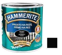 Hammerite Na Rdzę 0,7L CZARNY PÓŁMAT hamerite farba czarna