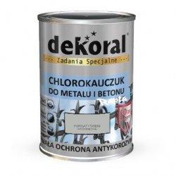 Dekoral Chlorokauczuk 5L POPIELATY ŚREDNI RAL7038 farba emalia