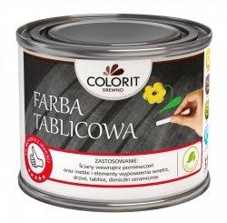 Colorit Farba Tablicowa  0,5L CZARNA na beton drewno 500ml