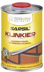 Sarsil Klinkier 1L 0,8kg impregnat silikonowy środek klinkieru do