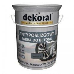 Dekoral Do Betonu 5L GRAFITOWO-SZARY Akrylit B Antypoślizgowa Farba