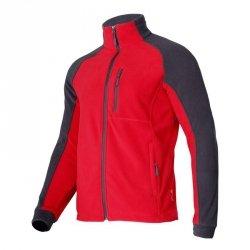 LAHTI PRO Bluza robocza ochronna 2XL polar czerwono-szara