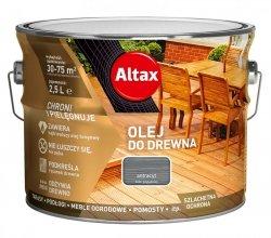 Altax olej do drewna 10L ANTRACYT tarasów