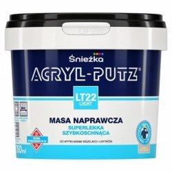 Acryl-Putz LT22 Light 750ml szpachla do dziur Masa naprawcza