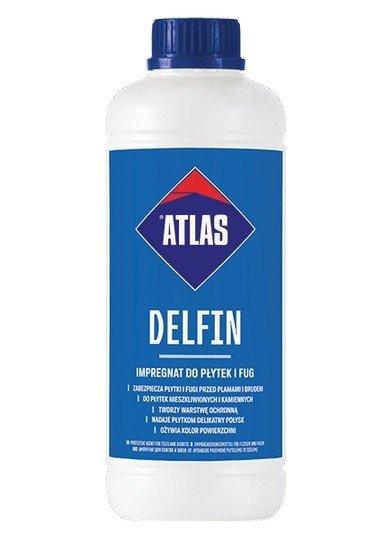 Atlas Delfin impregnat płytek fug 1kg 1L lakier akrylowy