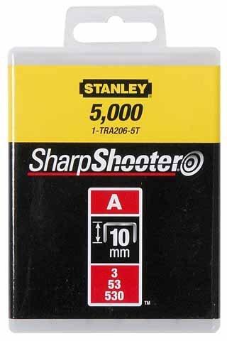 STANLEY Zszywki typ A 10mm 1000 szt zszywka 1-TRA206T