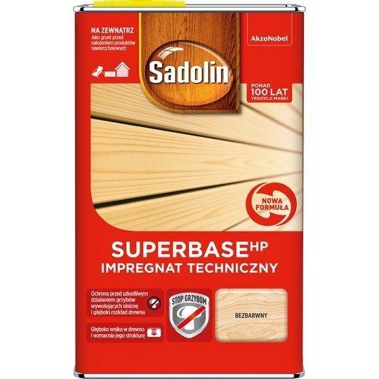 Sadolin SUPER-Base HP 0,75L impregnat techniczny drewna grunt