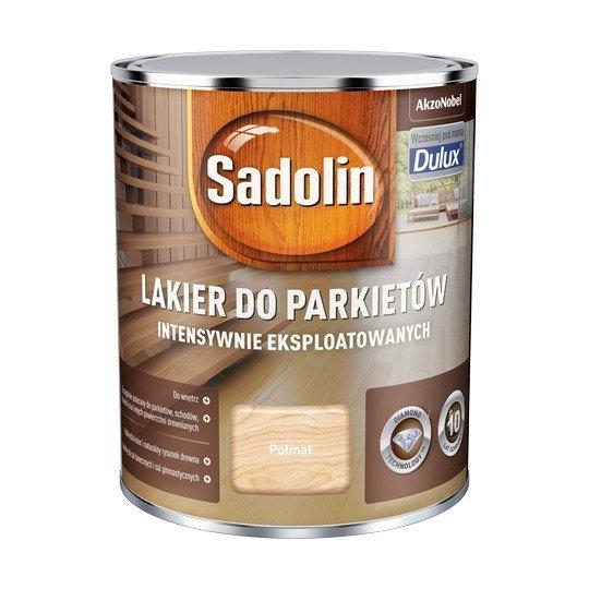 Sadolin Lakier Diamond PÓŁMAT 0,75L parkietu Dulux drewna intensywnie eksploatowanych