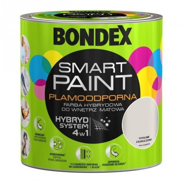 Bondex Smart Paint 2,5L TOTALNIE ZAUROCZONY