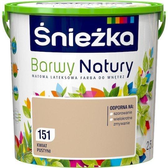 Śnieżka Barwy Natury 2,5L Kwiat Pustyni 151 Farba
