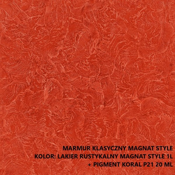 MAGNAT STYLE Marmur Klasyczny 6kg tynk dekoracyjny