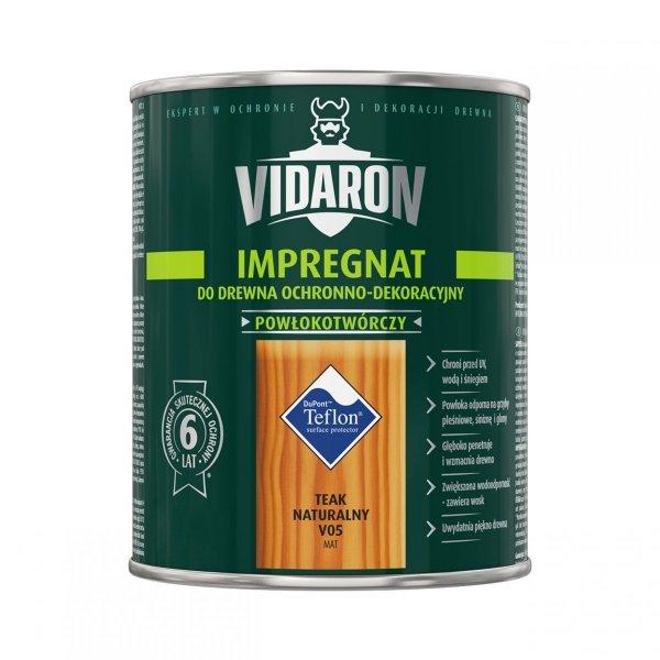 Vidaron Impregnat 9L V05 Teak Naturalny do drewna powłokotwórczy