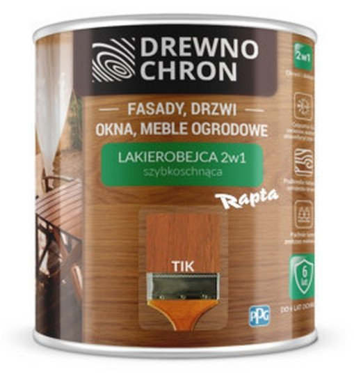 Drewnochron 2w1 Lakierobejca TIK 2,5L drewna do