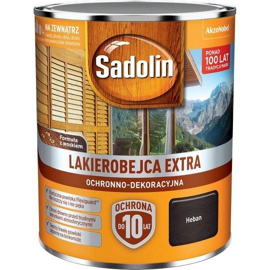 Sadolin Extra lakierobejca 0,75L HEBAN 5 drewna