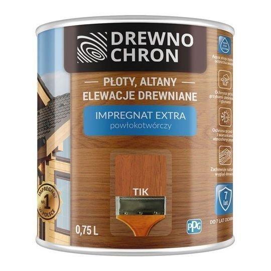 Drewnochron TIK 0,75L Impregnat Extra drewna do powłokotwórczy