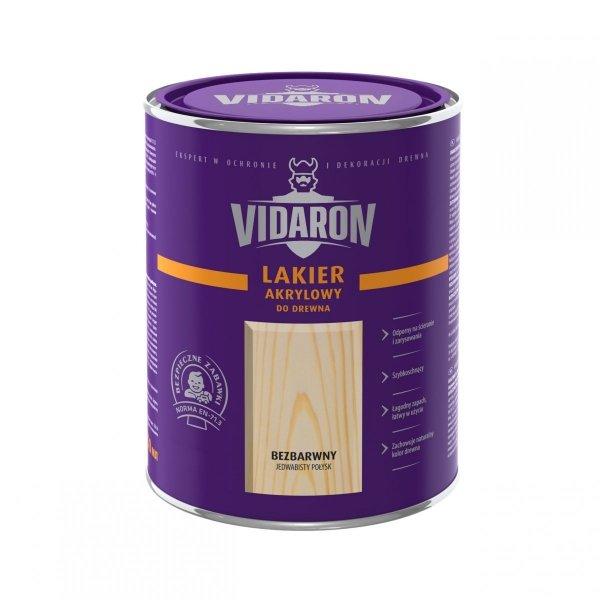 Vidaron Lakier akrylowy bezbarwny wodny 5L